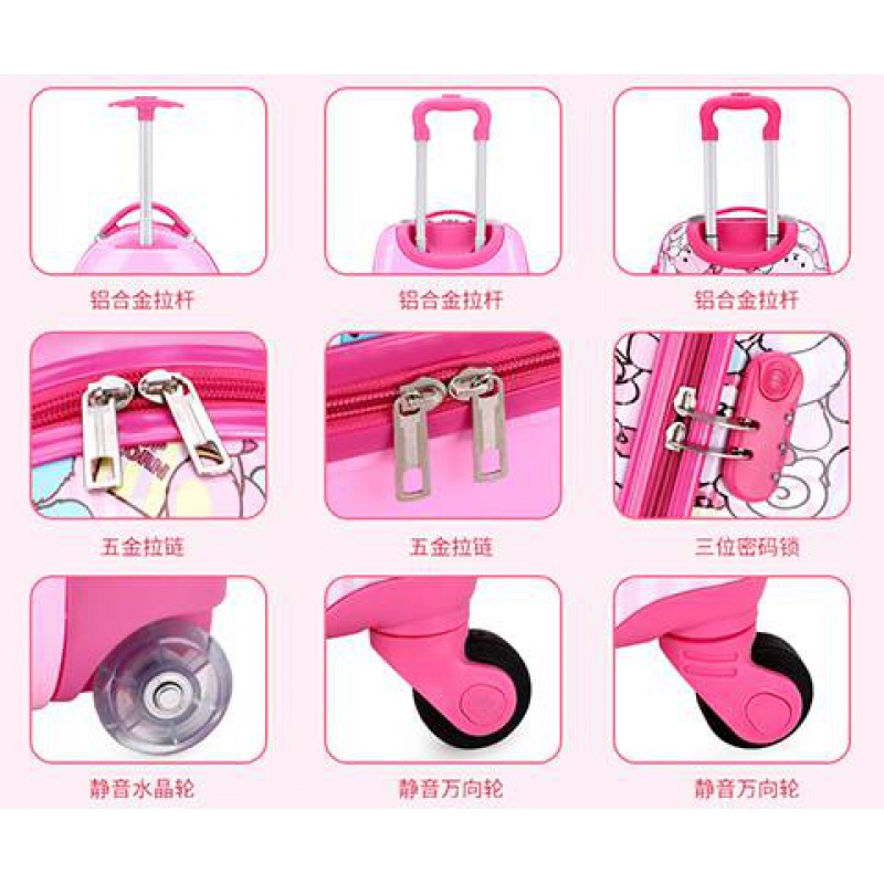 Childrens Trolley Case custom logo design mens and womens 1618 inch suitcase health bag childrens school suitcase