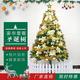 圣诞树装饰家用饰品圣诞节装饰品加密1.5米套餐商场酒店场景布置图片