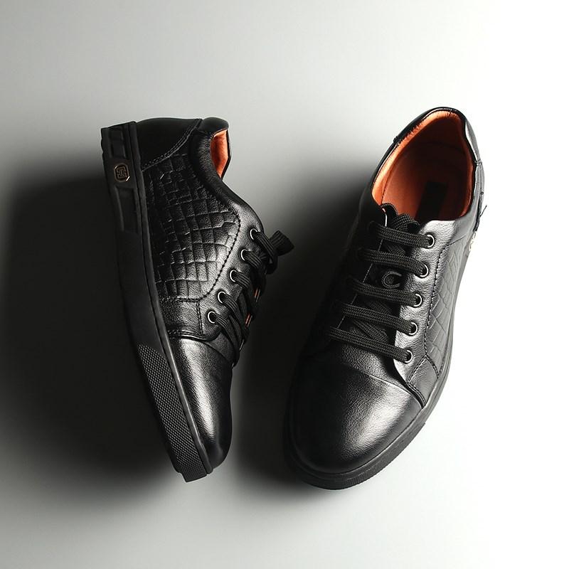 中国ですブラックのペンダントカジュアル【海】牛革の柔らかい靴hsxj 3 v 113 ab 7 f