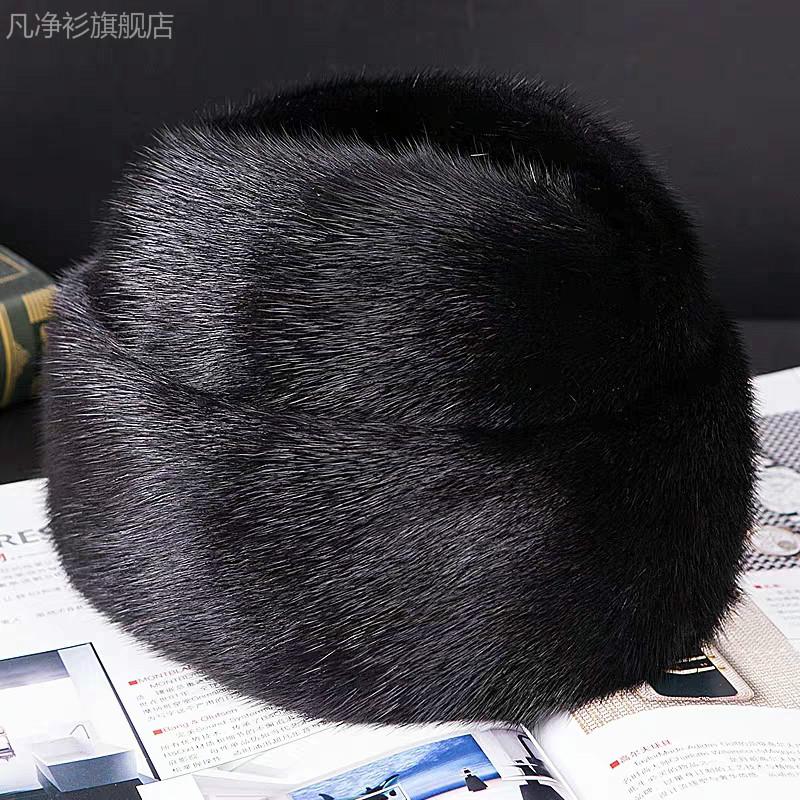 穿貂配什么帽子好看:穿貂皮配的帽子