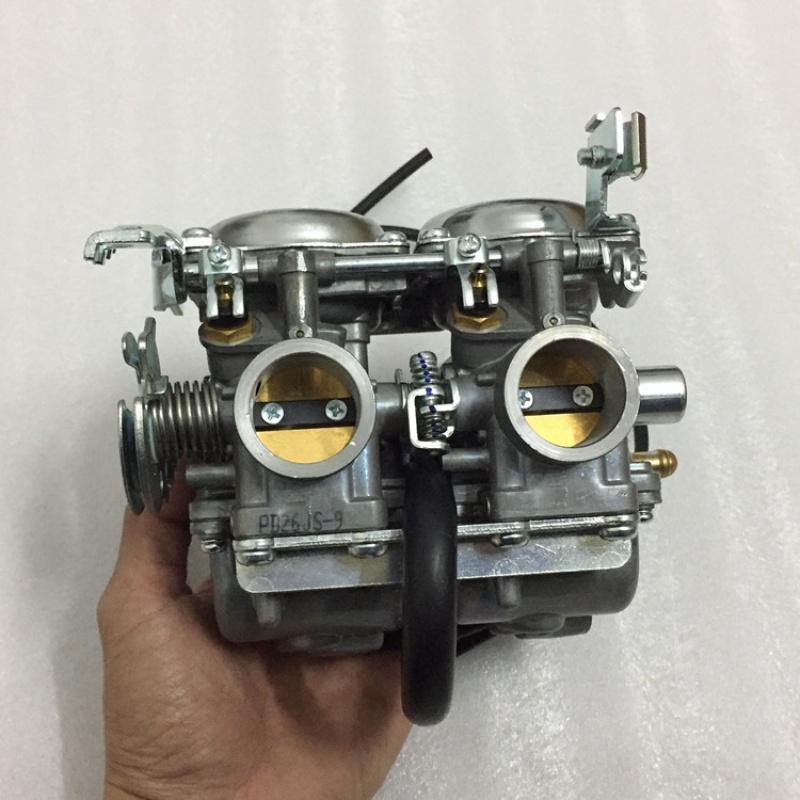 小忍者350双缸化油器摩托车CA250化油器 力帆250 大地鹰王DD250 D
