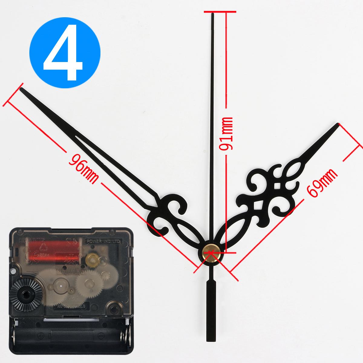 字绣挂钟表配件机芯 正品power302s扫静音长轴扣式无螺纹十,可领取元淘宝优惠券