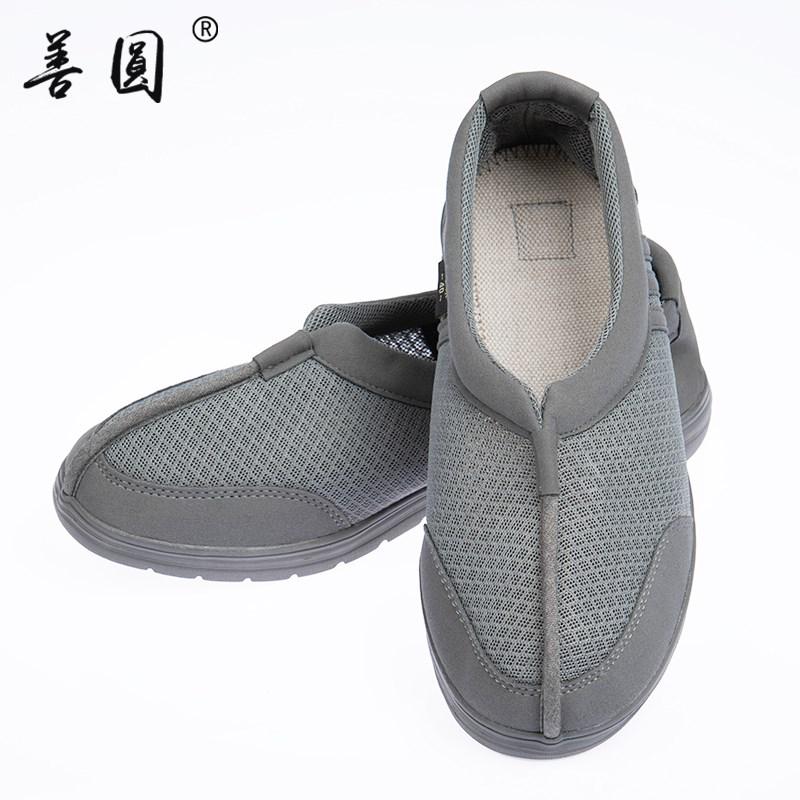 网面僧鞋夏季透气鞋单鞋僧人网鞋凉鞋佛教禅修僧侣和尚男女款