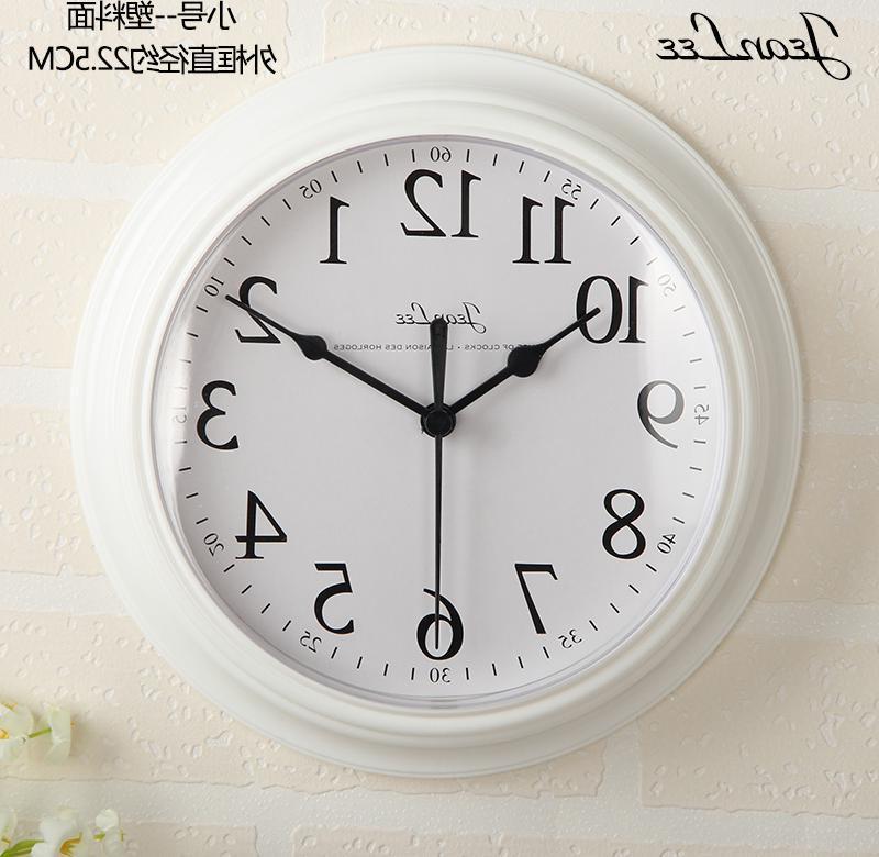 钟表创意挂钟品味典雅学校挂表学生餐馆单位时钟公司时间家用店面