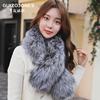 Jones nobility new winter fox fur scarves fur scarves unisex ovo collar big collar