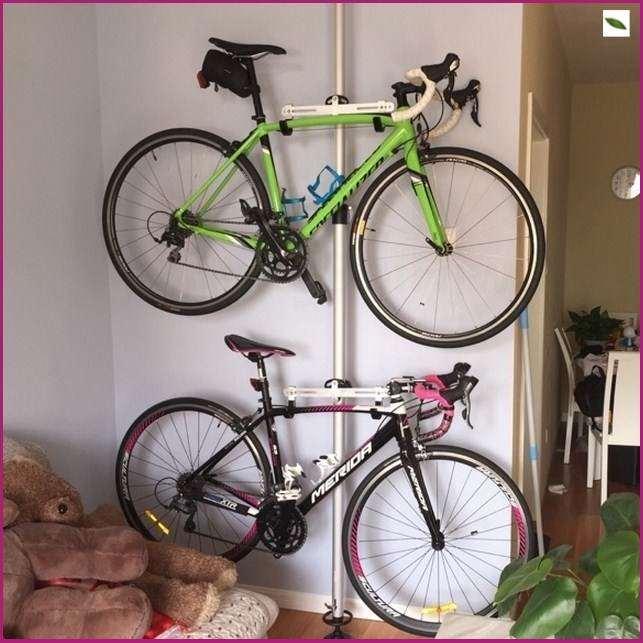 頂天立地柱配件腳踏多用合金牆壁挂鈎架平頂天立地柱牆壁挂車雙層