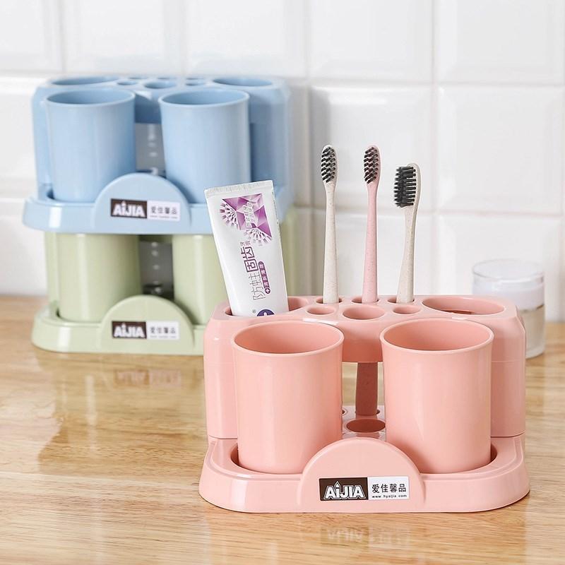 牙刷收纳架摆台式网红牙刷架牙刷置物架台式 桌面牙刷架 北欧 ins,可领取1元天猫优惠券