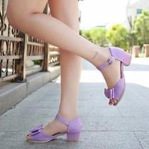 夏女童凉鞋4高跟5小学生穿的7公主凉鞋8儿童鞋夏天9岁十女孩子1。
