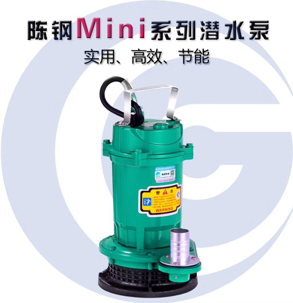 迷你220V伏家用潜水泵高扬程清水泵大流量农用灌溉小型抽水机一寸