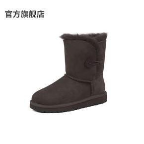2020新款澳洲羊皮毛一体儿童雪地靴ESТUGG童鞋男童女童 靴子防水