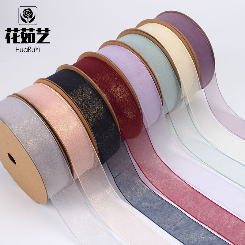 South Korea imported Ribbon Ribbon Ribbon Ribbon packaging paper material bouquet flowers Chiffon flower wrapping