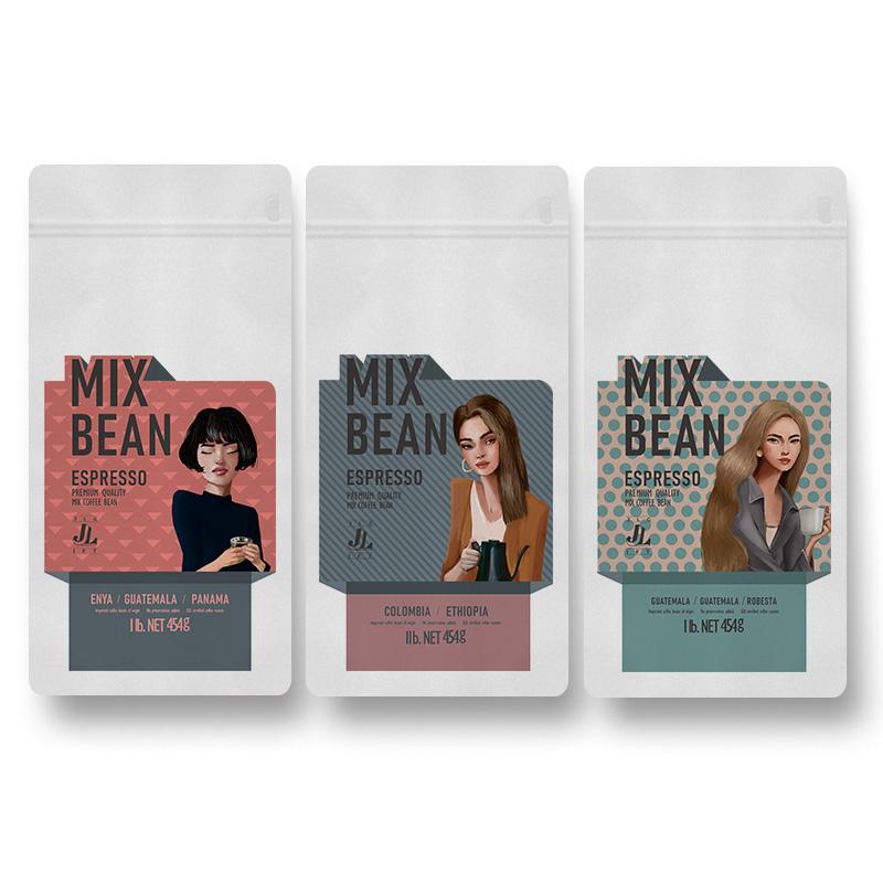 [aftertaste] 1 pound creative Kenya match coffee beans Italian Chocolate Caramel cocoa girlfriends