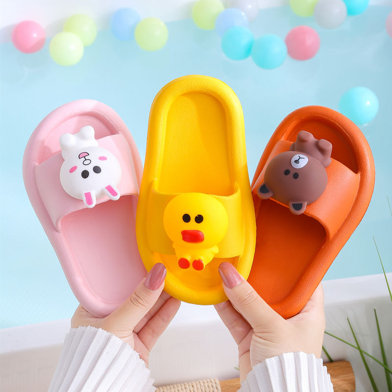 儿童拖鞋夏男童女童宝宝托鞋可爱防滑柔软小孩大中小童亲子凉拖鞋