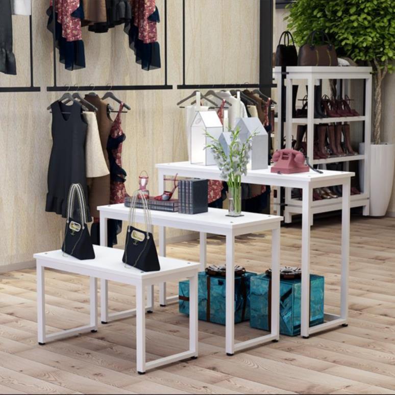 玩具橱窗展示台展览会小型时尚钱包架商场商业鞋子流水台摆架展品