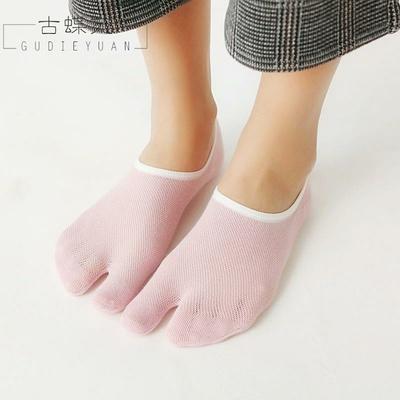 大拇指分开的袜子分趾袜两指袜二指袜男女和风二趾袜两趾袜木屐袜