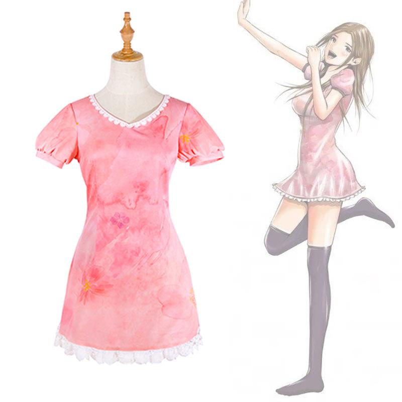 Back street girl cos guanjing Youjia Qiantian jiazhili red tailed cosplay costume A33