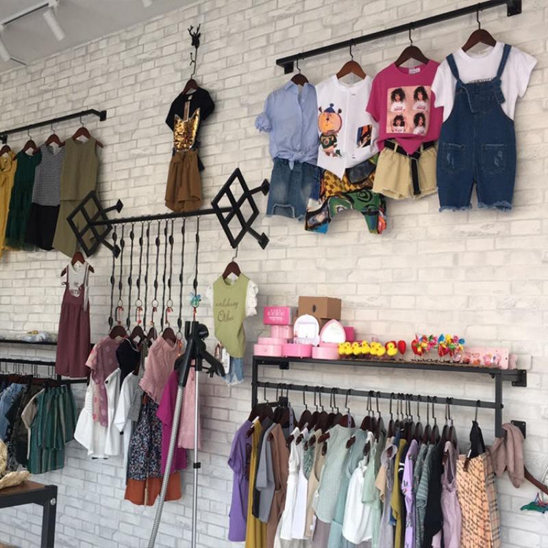 服装店展示架壁挂式店铺童装货架热销0件限时秒杀