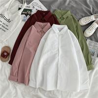 纯色中长款女衬衫第1名