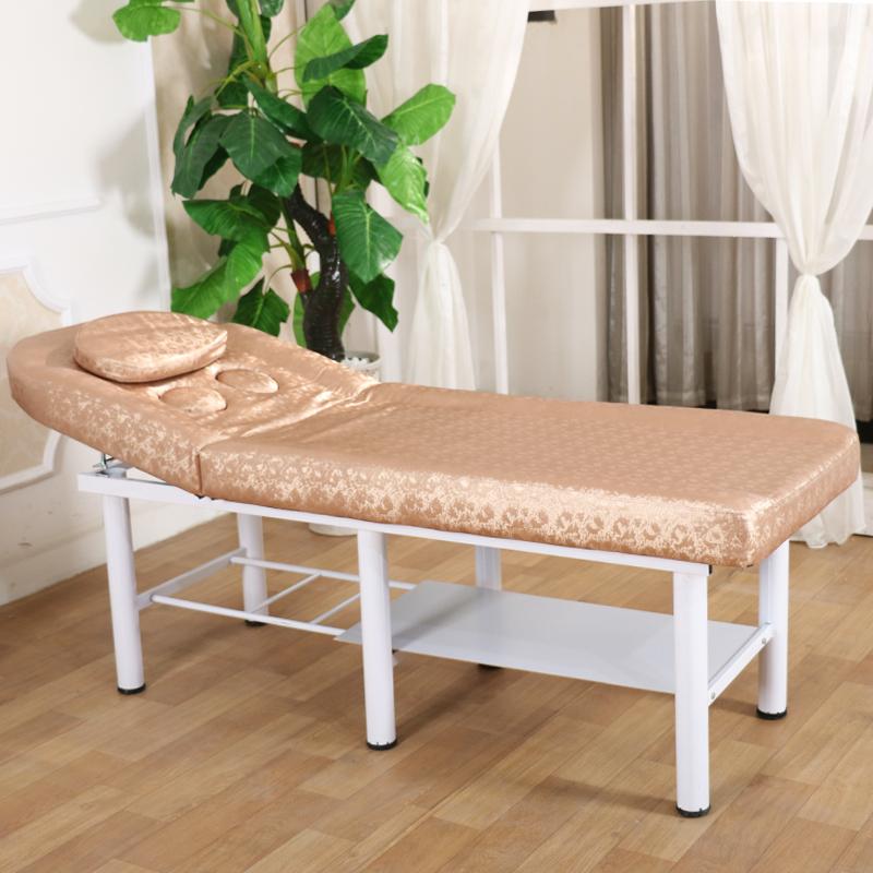 新款超厚海绵高档绒布美容床 美体按摩床美容院推拿理疗包邮