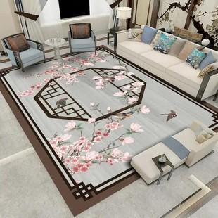 中式奢华地毯打造您的家居专属定制文精细提花工艺简胜优品念兮