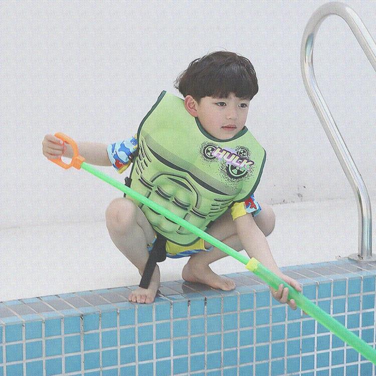 新款儿童救生衣 浮童肌肉款 学习游泳 助水浮力漂流背心 男