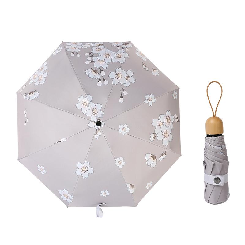 10月11日最新优惠小巧两用女防晒便携折叠晴雨太阳伞