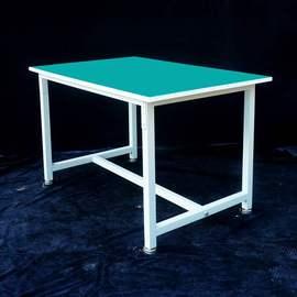 桌子重型钳工防静电工作台操作台流水线手机维修无尘车间打包台图片