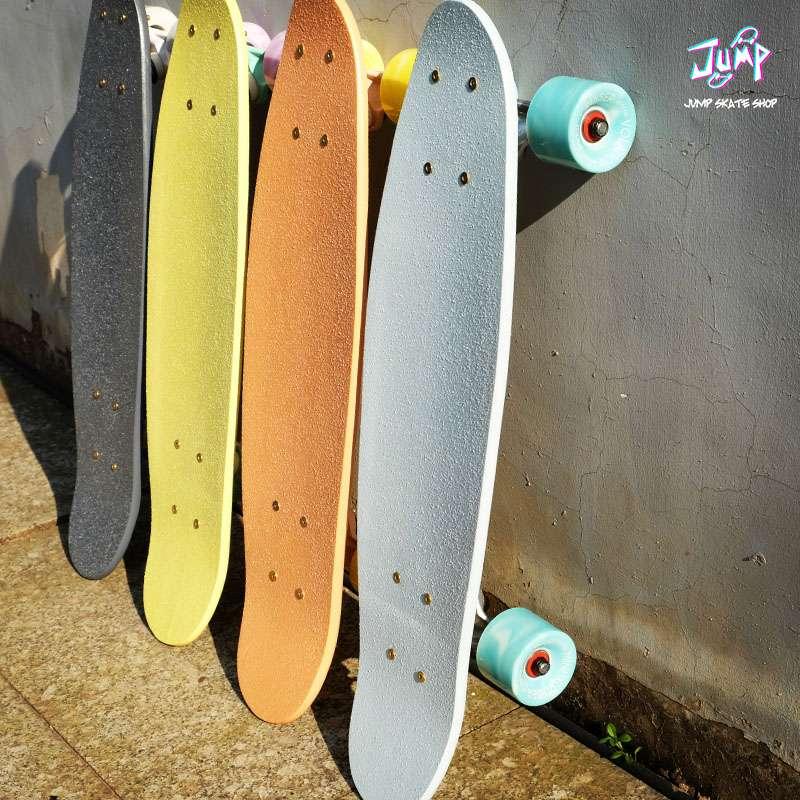 纯色鱼板单翘滑板 小鱼板 专业刷街滑板 jump滑板店
