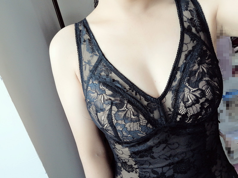 Foreign trade lace rimless m body shaping clothes womens waist closing tight beautiful back suspender bra and hip