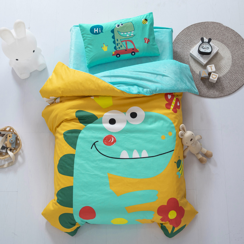 幼儿园三件套冬天纯棉儿童被褥被子