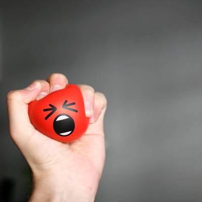 减压表情球挤压球创意新奇上课无聊发泄解压玩具儿童朋友生日礼物