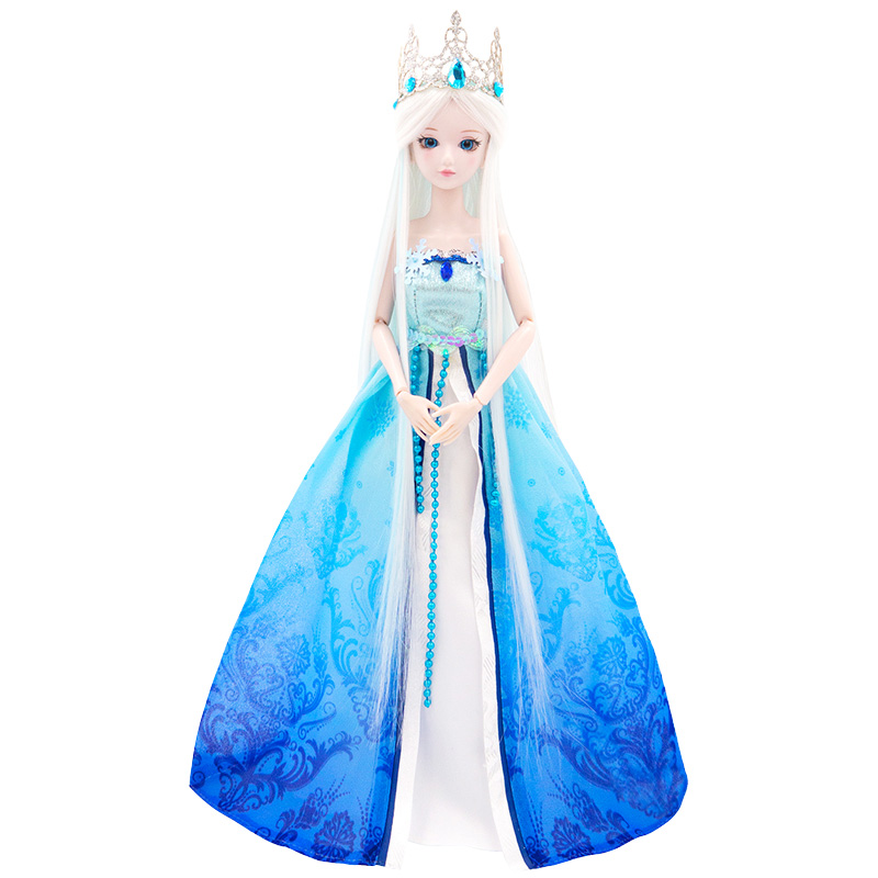 Authentic ye Luoli Doll Girl Doll Ling ice princess Luo Li fairy night Luo Li 29cm