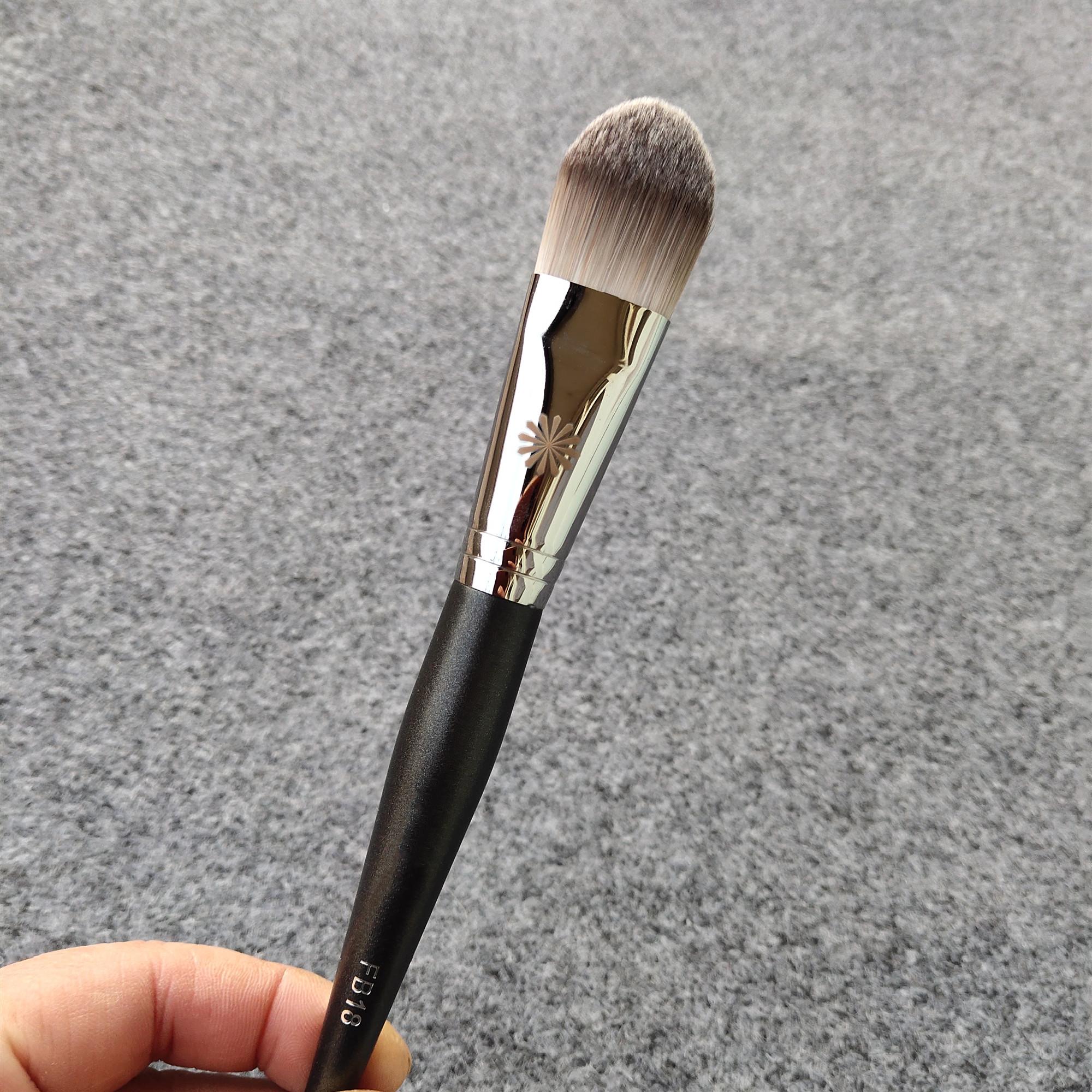 pony化妆刷毕加索FB18大号舌形粉底液刷BB霜刷面膜刷遮瑕刷纤维毛