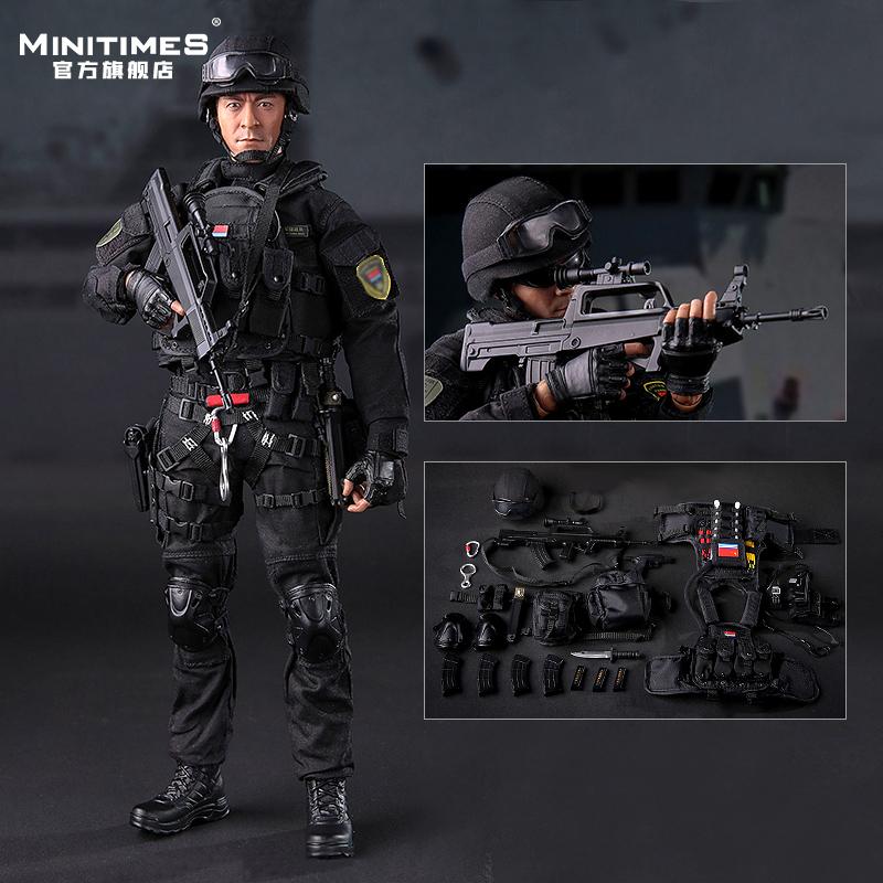 新【预售】Minitimes中国海军陆战队M027现代兵人 男礼物军模手办 Изображение 1