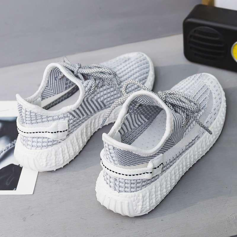 Summer breathable coconut shoes large womens shoes 41-43 student versatile mesh shoes large 40-42 running shoes