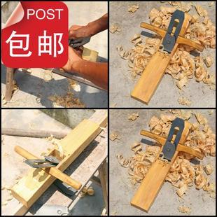 中式经鲁班花梨木刨子s手推手工刨木工工具木匠手刨特价包邮