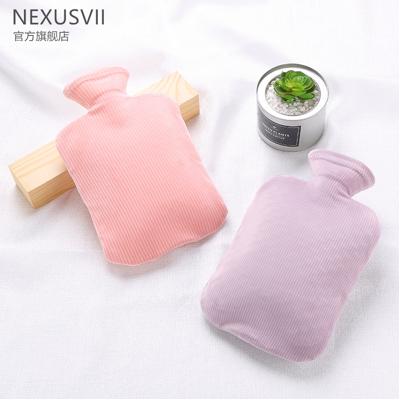 Hot water bag water injection female warm compress stomach warm feet bed water warm water bag warm hand bag warm baby dormitory warm water