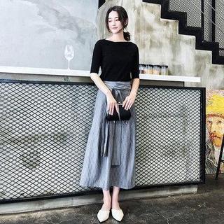 欧洲站夏季新款女装韩版时尚减龄洋气连衣裙套装网红气质两件套潮