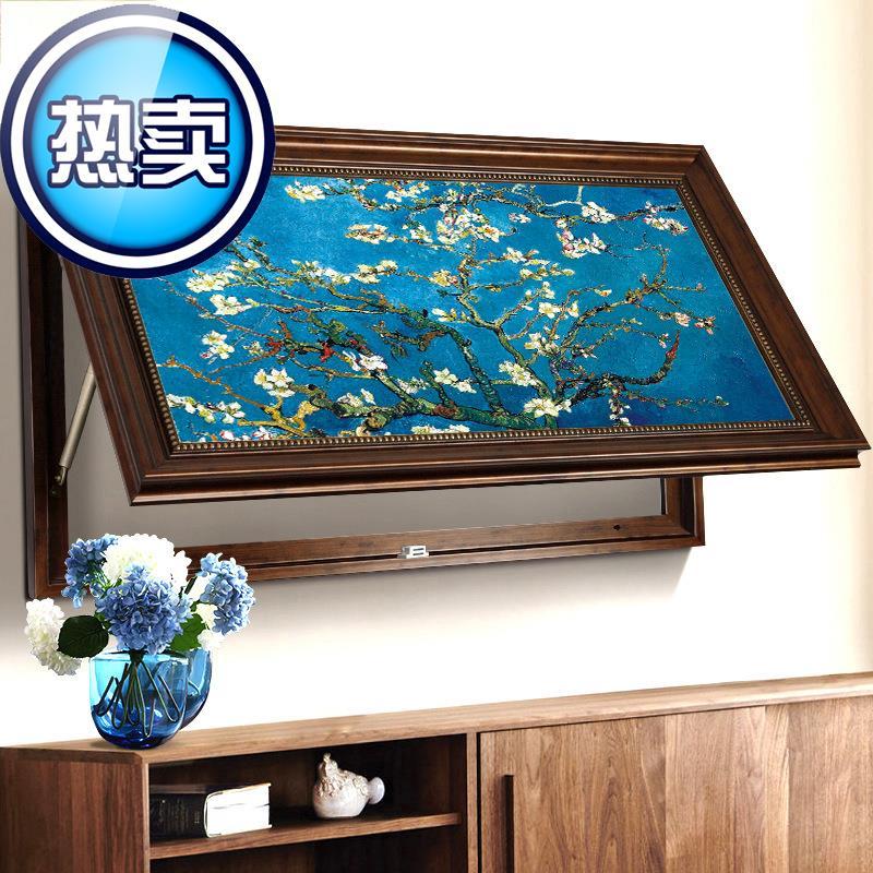 美式电表箱装饰2画大尺寸可电闸盒(非品牌)