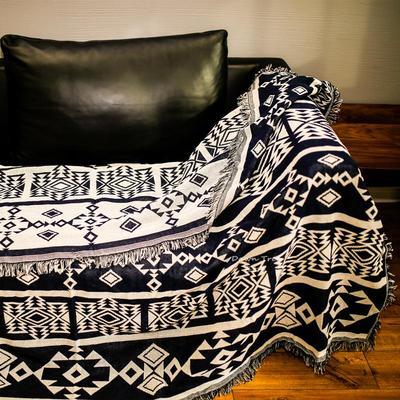 ins风网红沙发毯美式发巾全盖沙发套罩北欧沙发布单子四季通用