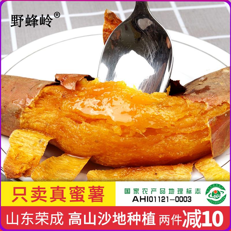 野蜂岭香蜜薯流油糖心烤红薯新鲜5斤红心地瓜山东高山沙地烟薯25