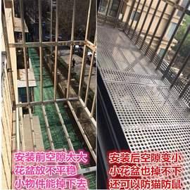 圆孔不锈钢垫板防盗网冲孔网花架阳台304围挡多肉板洞洞板网孔板