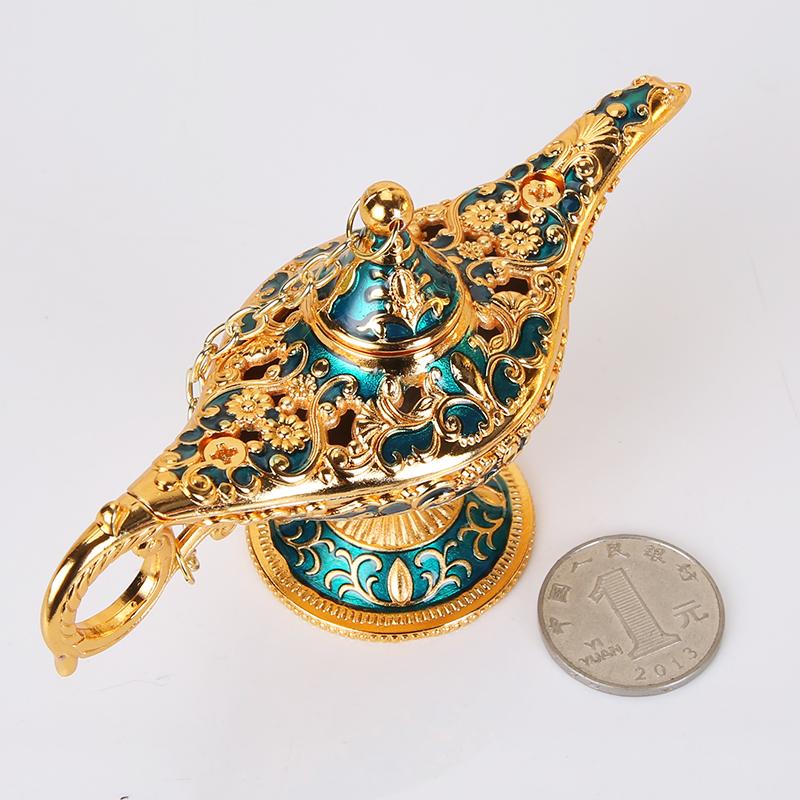 品金属装饰阿拉丁神灯 小号仿古典工艺品许愿创意摆件欧式道具灯