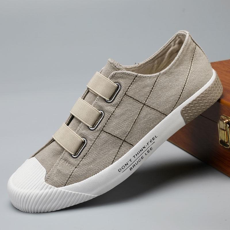 2020夏季新款男士休闲鞋青年潮流鞋子男鞋韩版布鞋学生流行帆布鞋