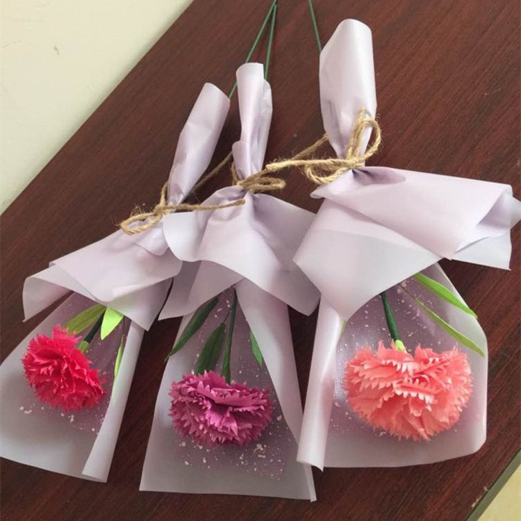 Northern Europe 2019 Festival gift 30 high-quality flowers for mothers manual creativity for teachers teaching