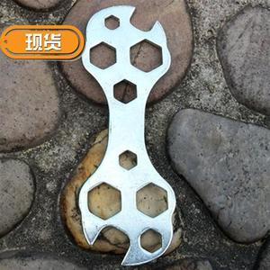 自行车修车工具花片扳手 板子 花片子扳手 多用l扳手 多孔扳子扳