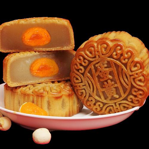现做现发手工制作广式蛋黄月饼传统糕点美食中秋节礼品独立包装,可领取1元天猫优惠券