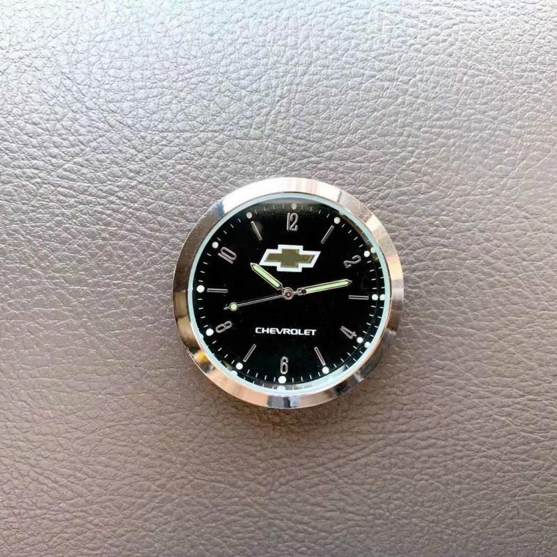 适用于雪佛兰汽车车载电子钟表夜光石英表仪表台时间表创意摆件