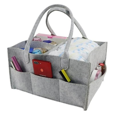 Felt diaper bag m and baby mommy bag travel bag can be