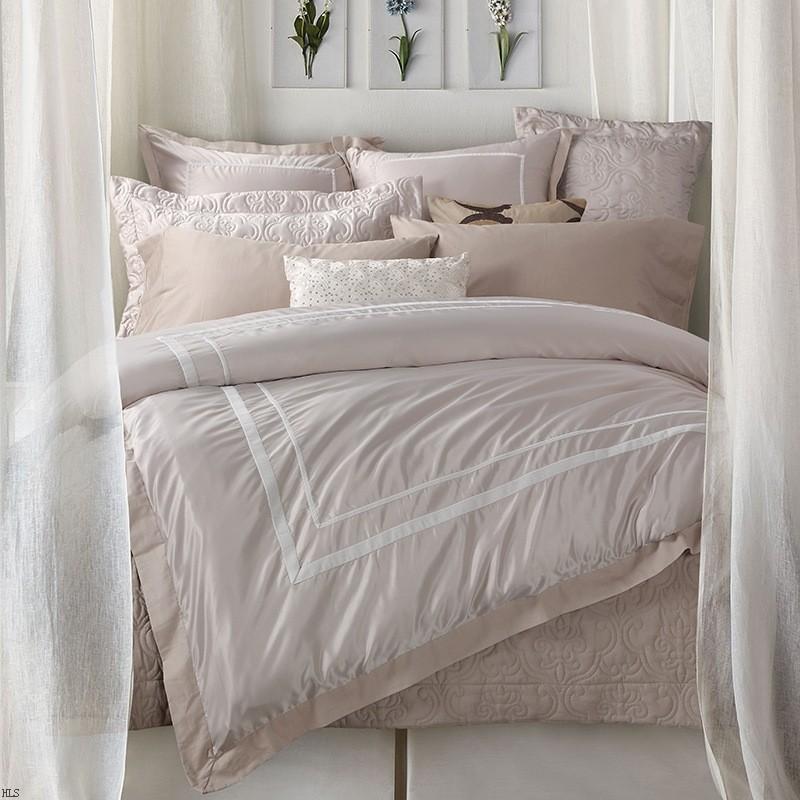 简约米色经典系 手工定制寝具 四六件套纯棉床上用品 家纺h